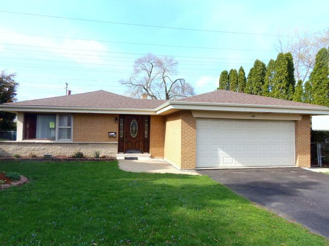 499 Gilbert Drive, Wood Dale, IL 60191 (MLS #10357496) :: Berkshire Hathaway HomeServices Snyder Real Estate