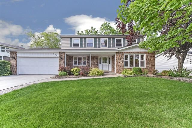 712 Bayberry Drive, Bartlett, IL 60103 (MLS #10361672) :: The Perotti Group | Compass Real Estate