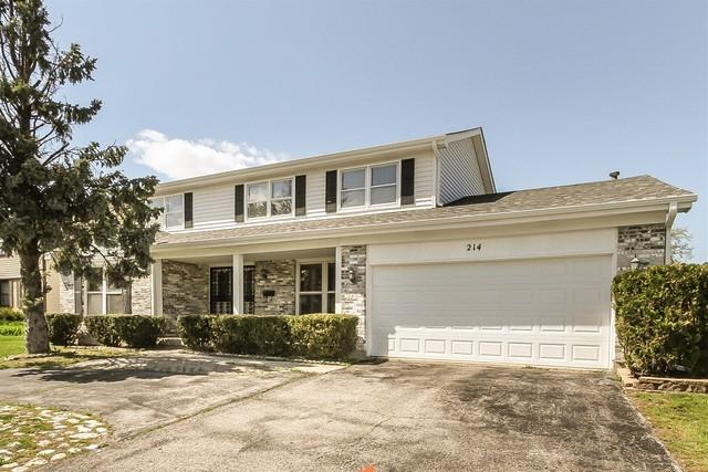 214 W Weathersfield Way, Schaumburg, IL 60193 (MLS #10363447) :: Berkshire Hathaway HomeServices Snyder Real Estate
