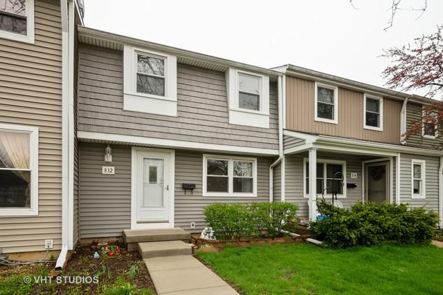 832 Carnaby Court #832, Schaumburg, IL 60194 (MLS #10363668) :: Baz Realty Network | Keller Williams Elite