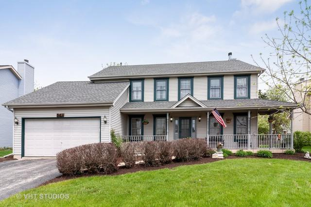 507 Wingfoot Drive, North Aurora, IL 60542 (MLS #10365794) :: Berkshire Hathaway HomeServices Snyder Real Estate