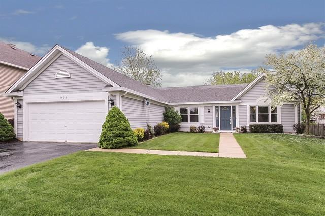 1406 Polo Drive, Bartlett, IL 60103 (MLS #10373574) :: The Perotti Group | Compass Real Estate