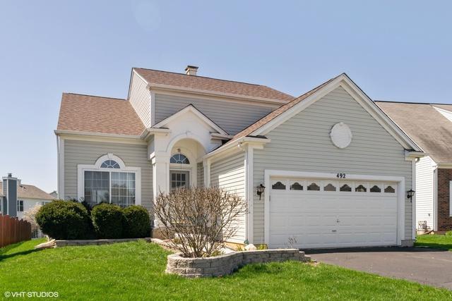 492 Knoll Crest Drive, Bartlett, IL 60103 (MLS #10375229) :: HomesForSale123.com