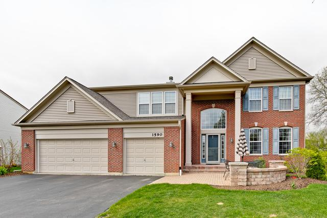1590 Mcclellan Drive, Lindenhurst, IL 60046 (MLS #10375716) :: Berkshire Hathaway HomeServices Snyder Real Estate