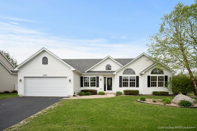 599 Bluestem Drive, Yorkville, IL 60560 (MLS #10376457) :: Berkshire Hathaway HomeServices Snyder Real Estate