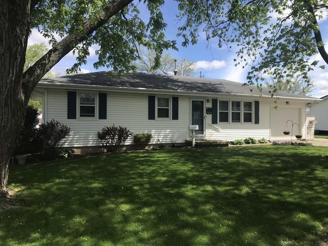 612 Easy Street, Gibson City, IL 60936 (MLS #10377748) :: Ryan Dallas Real Estate
