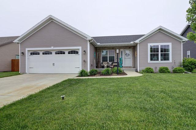 2017 Prairie Grass Lane, Mahomet, IL 61853 (MLS #10380423) :: Property Consultants Realty