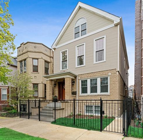 3423 N Oakley Avenue, Chicago, IL 60618 (MLS #10382357) :: Berkshire Hathaway HomeServices Snyder Real Estate