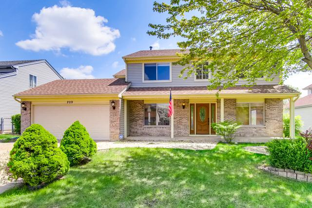 209 Hackberry Drive, Streamwood, IL 60107 (MLS #10382733) :: Berkshire Hathaway HomeServices Snyder Real Estate