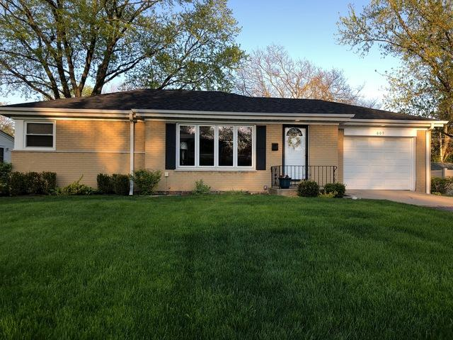 609 Greenwood Road, Glenview, IL 60025 (MLS #10382870) :: Property Consultants Realty