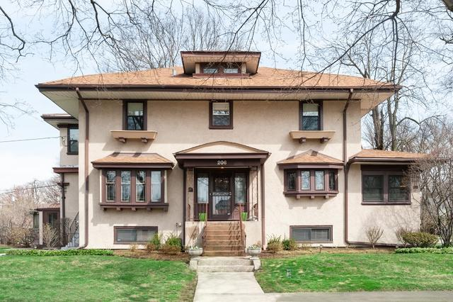 206 Franklin Avenue, River Forest, IL 60305 (MLS #10383080) :: Berkshire Hathaway HomeServices Snyder Real Estate