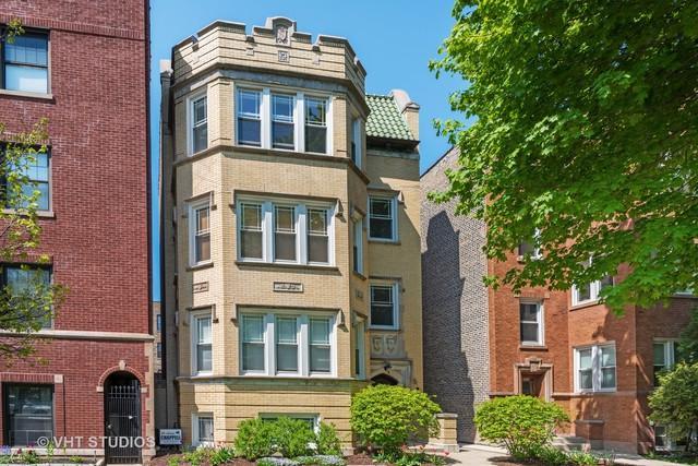 2052 W Farragut Avenue #3, Chicago, IL 60625 (MLS #10383335) :: Century 21 Affiliated