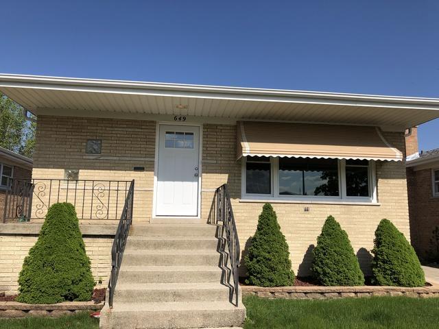 649 Exchange Avenue, Calumet City, IL 60409 (MLS #10383396) :: Property Consultants Realty