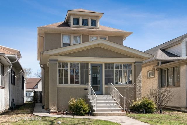 536 Clarence Avenue, Oak Park, IL 60304 (MLS #10383471) :: Property Consultants Realty