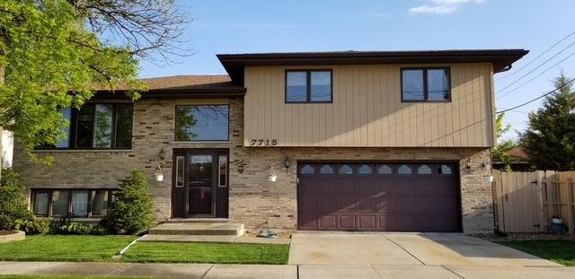 7715 W 83rd Street, Bridgeview, IL 60455 (MLS #10383851) :: Property Consultants Realty