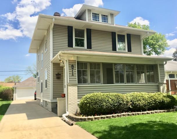871 Jeannette Street, Des Plaines, IL 60016 (MLS #10383952) :: Berkshire Hathaway HomeServices Snyder Real Estate