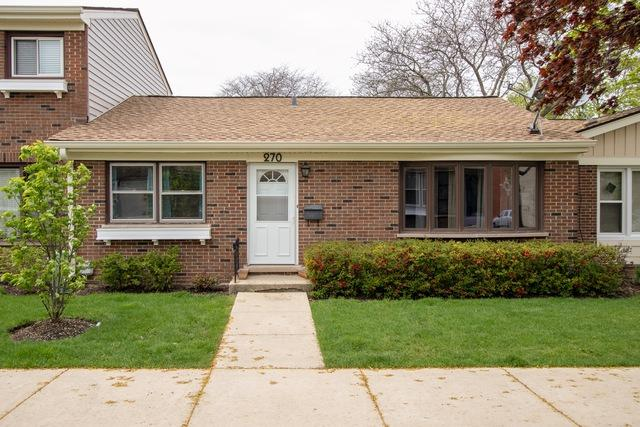 270 Bay Street D2, Wood Dale, IL 60191 (MLS #10384134) :: Century 21 Affiliated
