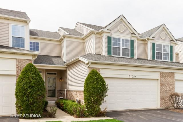 2105 Braeburn Drive C, Wauconda, IL 60084 (MLS #10384827) :: Berkshire Hathaway HomeServices Snyder Real Estate