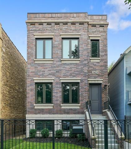3423 N Bell Avenue, Chicago, IL 60618 (MLS #10385717) :: Berkshire Hathaway HomeServices Snyder Real Estate
