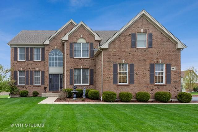 20 Olympic Drive, South Barrington, IL 60010 (MLS #10385895) :: Berkshire Hathaway HomeServices Snyder Real Estate