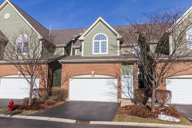 296 W Fairview Circle, Palatine, IL 60067 (MLS #10386107) :: Helen Oliveri Real Estate