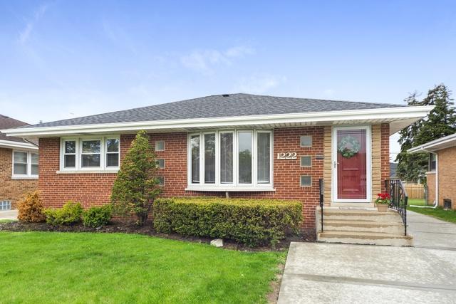 1222 S Cumberland Avenue, Park Ridge, IL 60068 (MLS #10386143) :: Berkshire Hathaway HomeServices Snyder Real Estate