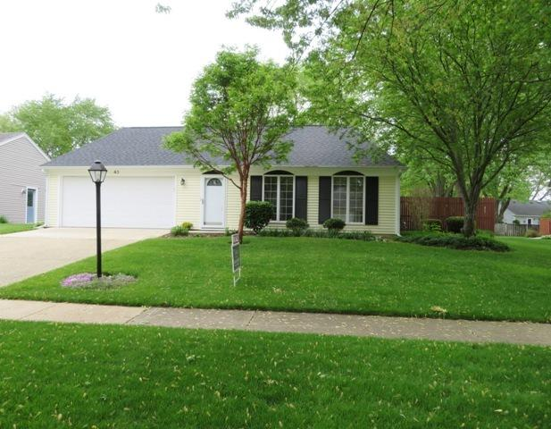 43 Sherwick Road, Oswego, IL 60543 (MLS #10386249) :: Berkshire Hathaway HomeServices Snyder Real Estate