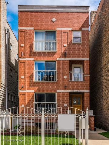 1531 N Campbell Avenue #1, Chicago, IL 60622 (MLS #10386362) :: Property Consultants Realty