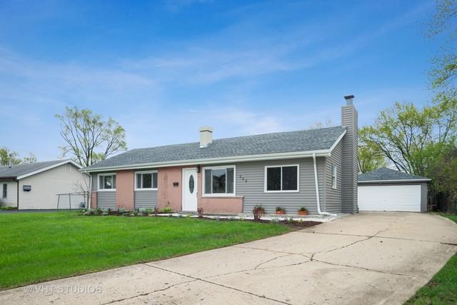 235 W Thacker Street, Hoffman Estates, IL 60169 (MLS #10386586) :: Angela Walker Homes Real Estate Group
