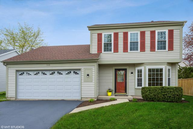 140 Knightsbridge Drive, Mundelein, IL 60060 (MLS #10386612) :: Berkshire Hathaway HomeServices Snyder Real Estate