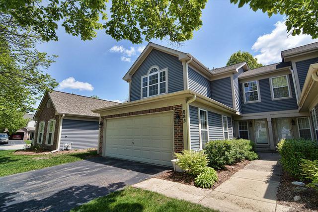 885 Dandridge Court, Elgin, IL 60120 (MLS #10387161) :: Berkshire Hathaway HomeServices Snyder Real Estate