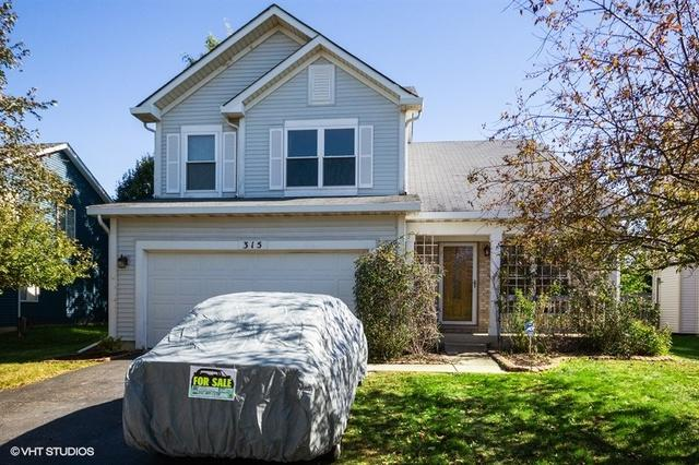 315 Wallace Way, Romeoville, IL 60446 (MLS #10388145) :: Berkshire Hathaway HomeServices Snyder Real Estate