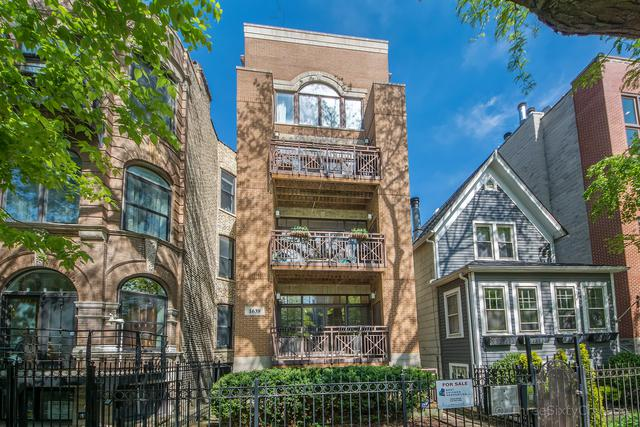 1639 N Oakley Avenue D1, Chicago, IL 60647 (MLS #10388175) :: Berkshire Hathaway HomeServices Snyder Real Estate