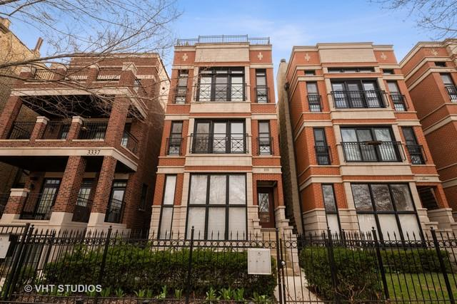 3333 N Seminary Avenue #3, Chicago, IL 60657 (MLS #10388696) :: Berkshire Hathaway HomeServices Snyder Real Estate