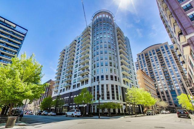 421 W Huron Street #607, Chicago, IL 60654 (MLS #10388944) :: Property Consultants Realty