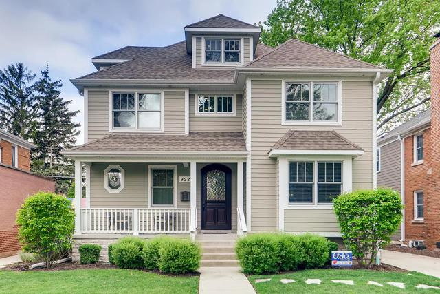 922 S Western Avenue, Park Ridge, IL 60068 (MLS #10388966) :: Berkshire Hathaway HomeServices Snyder Real Estate
