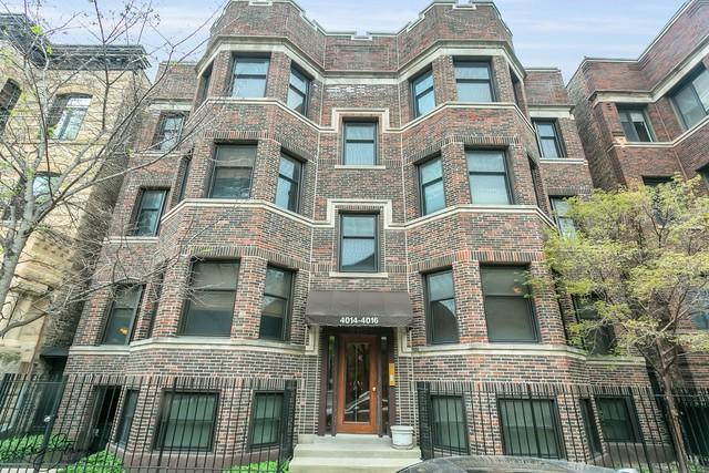 4016 N Clarendon Avenue 4N, Chicago, IL 60613 (MLS #10389374) :: The Perotti Group | Compass Real Estate