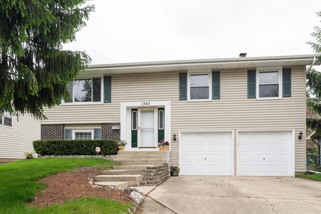 1340 Campbell Lane, Hoffman Estates, IL 60169 (MLS #10389483) :: Berkshire Hathaway HomeServices Snyder Real Estate
