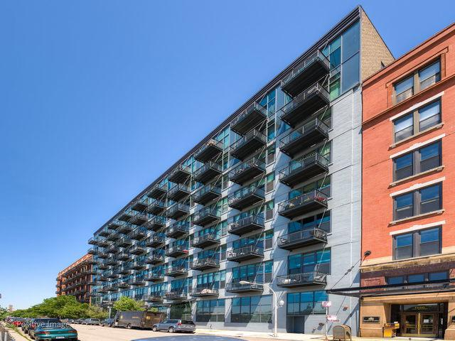 1224 W Van Buren Street #725, Chicago, IL 60607 (MLS #10389516) :: Berkshire Hathaway HomeServices Snyder Real Estate