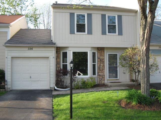 326 Birchwood Avenue #326, Palatine, IL 60067 (MLS #10389764) :: BNRealty