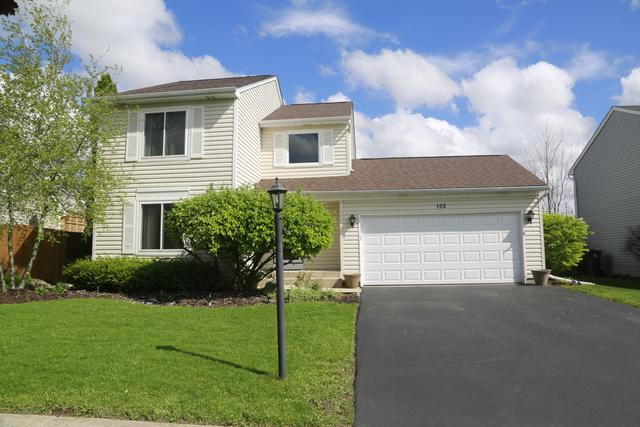 152 Red Cedar Drive, Streamwood, IL 60107 (MLS #10389832) :: Century 21 Affiliated