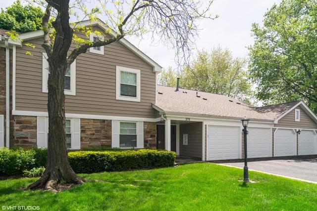 375 Newgate Court O1, Schaumburg, IL 60193 (MLS #10389951) :: Berkshire Hathaway HomeServices Snyder Real Estate