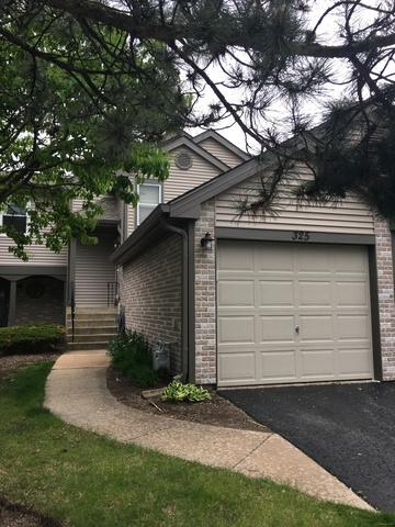 325 Grissom Court #325, Hoffman Estates, IL 60169 (MLS #10390460) :: Berkshire Hathaway HomeServices Snyder Real Estate