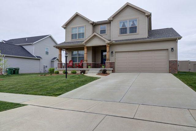 1616 Hunters Ridge Court, Mahomet, IL 61853 (MLS #10390583) :: Berkshire Hathaway HomeServices Snyder Real Estate