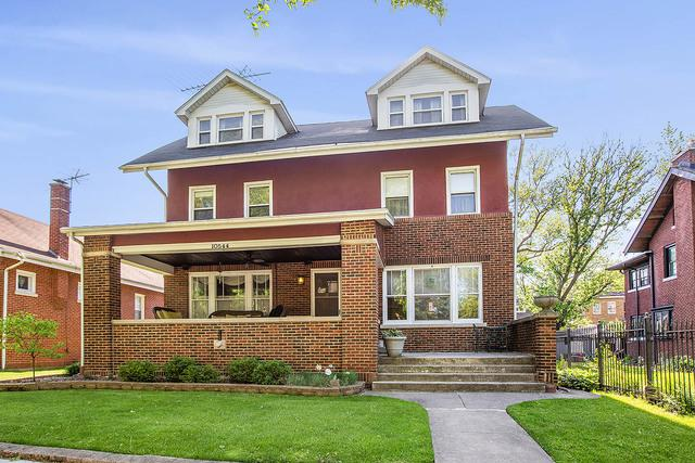 10544 S Hoyne Avenue, Chicago, IL 60643 (MLS #10391836) :: Berkshire Hathaway HomeServices Snyder Real Estate