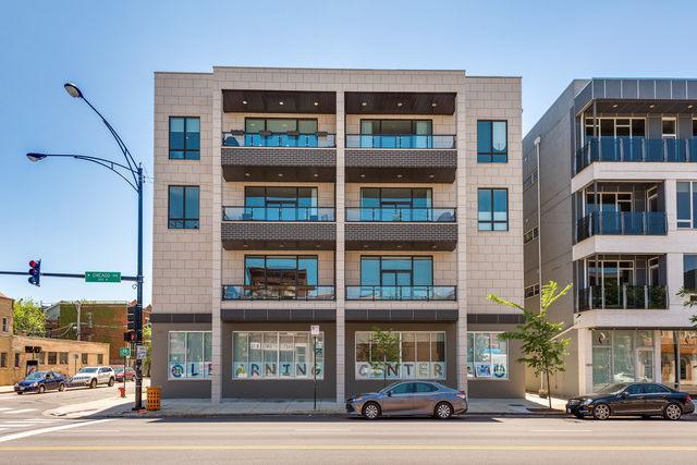 1801 W Chicago Avenue 4E, Chicago, IL 60622 (MLS #10392526) :: Berkshire Hathaway HomeServices Snyder Real Estate
