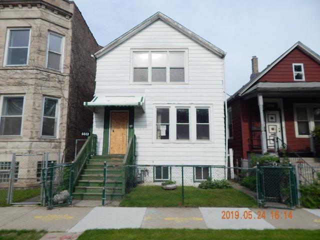 6613 S Peoria Street, Chicago, IL 60621 (MLS #10393030) :: Ani Real Estate