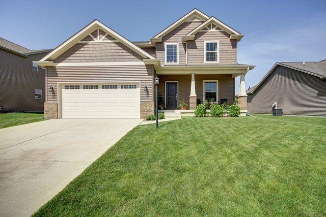 1411 Stonecrest Drive, Mahomet, IL 61853 (MLS #10394093) :: Ryan Dallas Real Estate