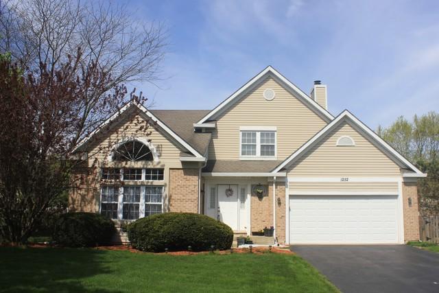 1252 Morgan Lane, Bartlett, IL 60103 (MLS #10397228) :: The Perotti Group | Compass Real Estate