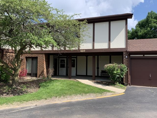 420 Brandy Drive C, Crystal Lake, IL 60014 (MLS #10401002) :: The Perotti Group | Compass Real Estate